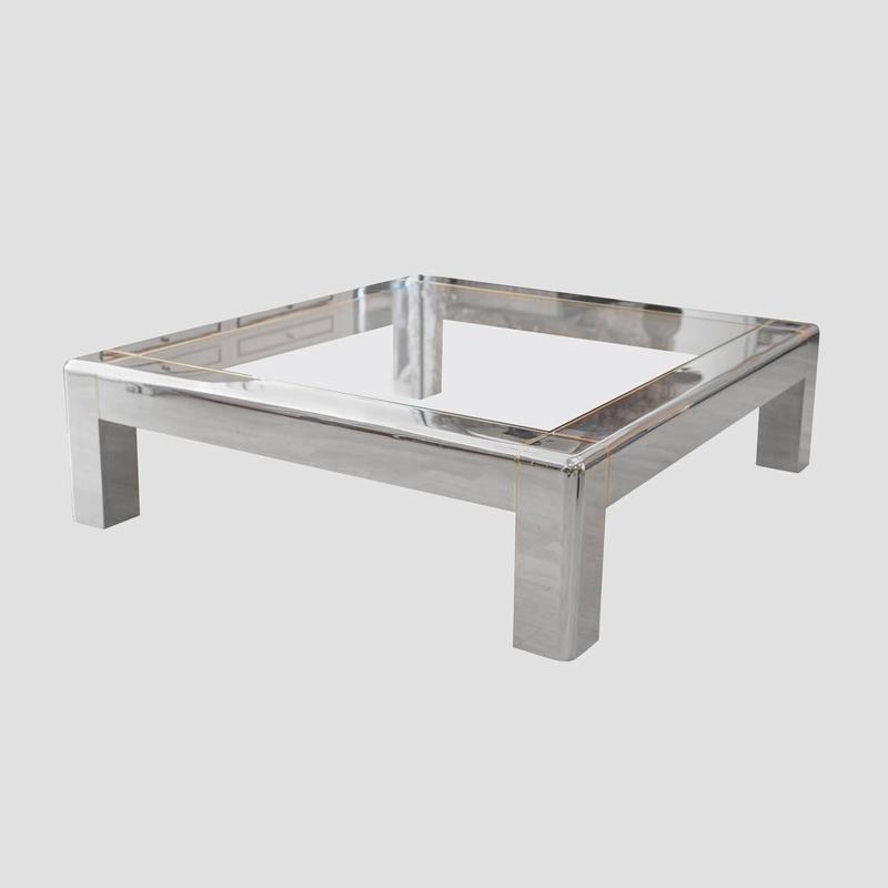 Karl Springer Low Coffee Table Main Image