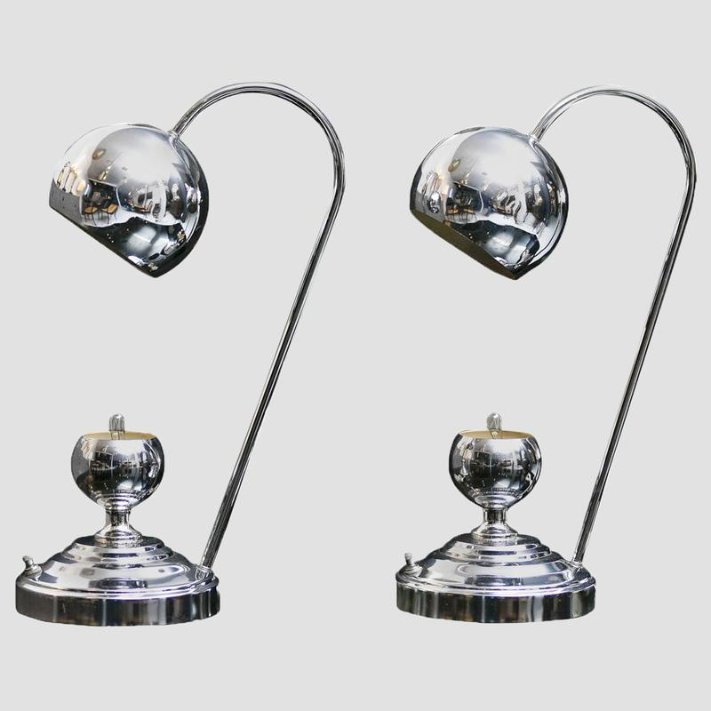 Chrome Desk Lamps Main Image