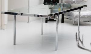 Pierre Cardin Mirror and Steel Table Preview Image 3