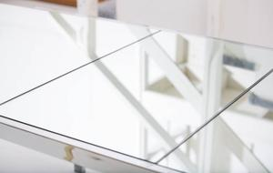 Pierre Cardin Mirror and Steel Table Preview Image 4