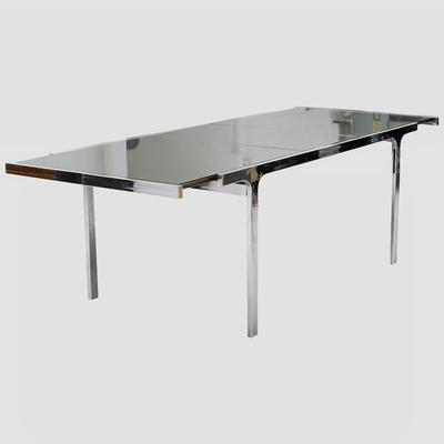 Pierre Cardin Mirror and Steel Table Preview