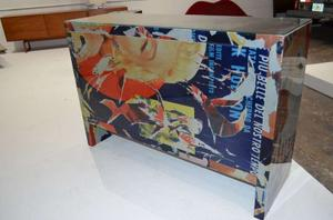 """Mimmo Rotella Art Cabinet """"Marylin Monroe"""" Preview Image 4"""