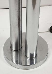 Mazzega Chromed Steel and Glass Floor Lamp Preview Image 6