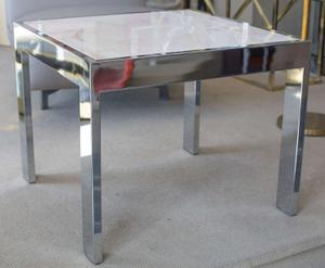 Marble and Steel Side Tables Preview Image 1