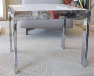 Marble and Steel Side Tables Preview Image 2