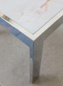 Marble and Steel Side Tables Preview Image 4
