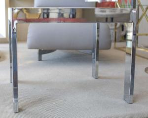 Marble and Steel Side Tables Preview Image 5