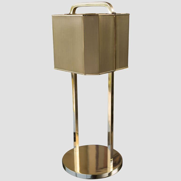 1970's Brass Table Lamp Main Image