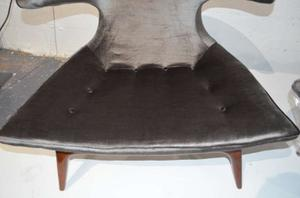 """""""Horn"""" Lounge Chairs by Karpen of California"""" Preview Image 7"""
