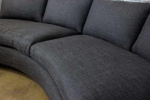 Milo Baughman 1970's Circular Sofa Preview Image 1
