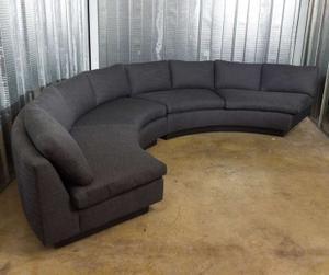 Milo Baughman 1970's Circular Sofa Preview Image 3