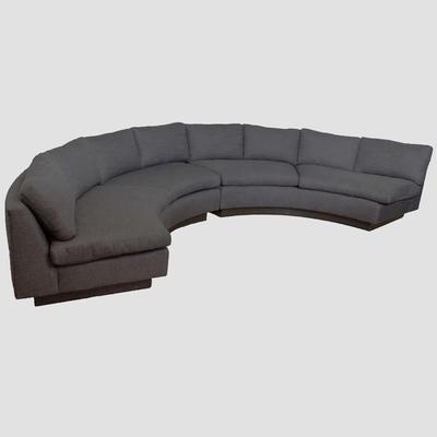 Milo Baughman 1970's Circular Sofa Preview