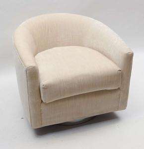 Milo Baughman 1970's Swivel Chairs Preview Image 2