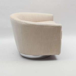 Milo Baughman 1970's Swivel Chairs Preview Image 3