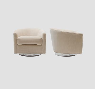 Milo Baughman 1970's Swivel Chairs Preview
