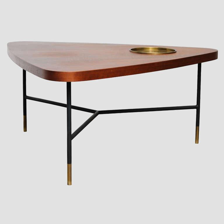 Vito Latis 1950's Cocktail Table for Singer & Sons Main Image
