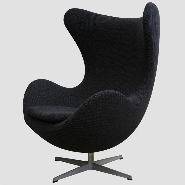 """Arne Jacobsen 1960's """"Egg Chair"""" Main Image"""