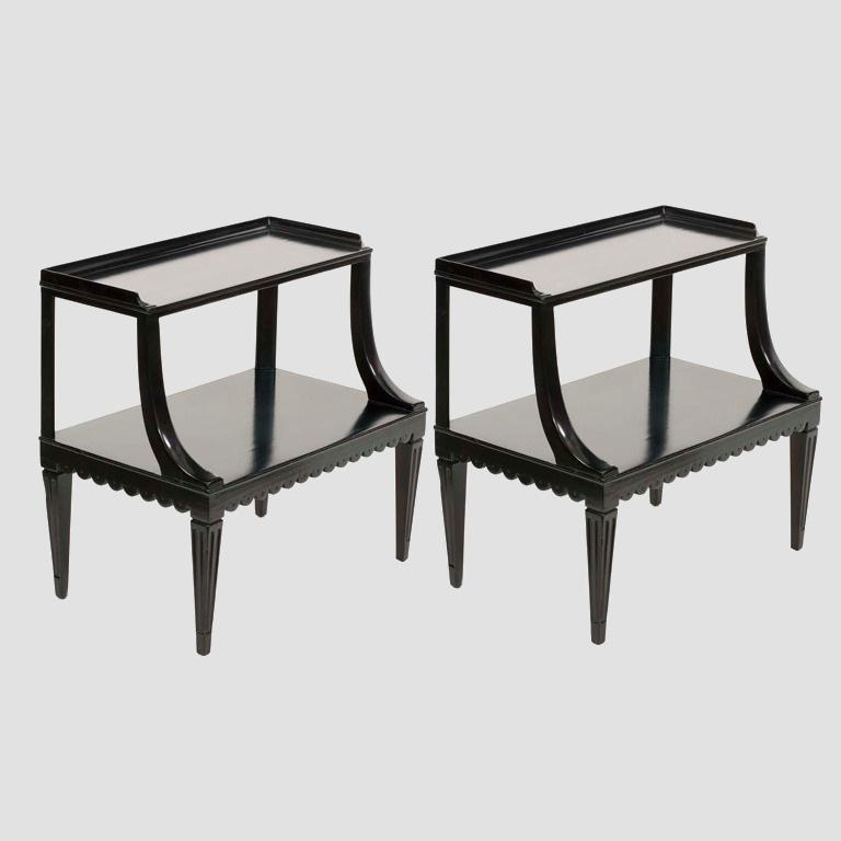 Dunbar Two Tier End Tables Main Image