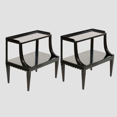 Dunbar Two Tier End Tables Preview