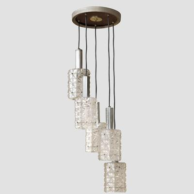 Mazzega Five Lights Pendant Preview