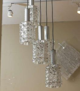 Mazzega Five Lights Pendant Preview Image 2