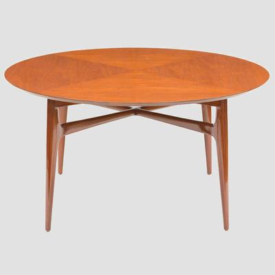 1950's Walnut Round Tea Table Preview