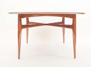 1950's Walnut Round Tea Table Preview Image 3