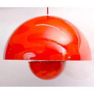 Verner Panton 1960's Op-Art Pendant Preview Image 1
