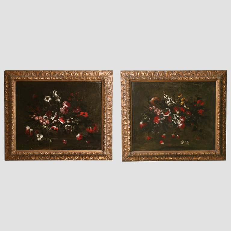 17th C. Italian Still Life Paintings Main Image