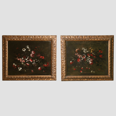 17th C. Italian Still Life Paintings Preview