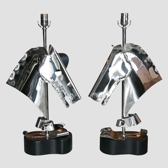 Heifetz Horse Table Lamps Main Image