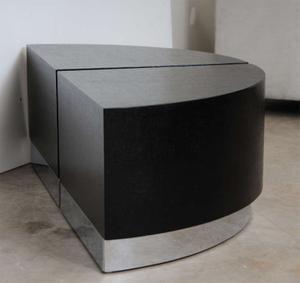 Karl Springer Linen Side Tables Preview Image 6
