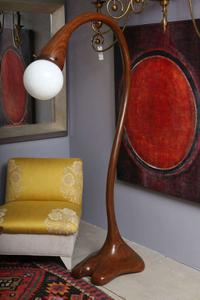 Art Studio Wood Floor Lamp Preview Image 1