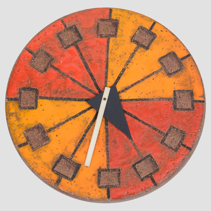 Howard Miller Italian Ceramic Clock Main Image