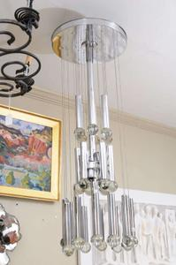 Sciolari Three Tier Ball Chandelier Preview Image 1