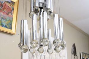 Sciolari Three Tier Ball Chandelier Preview Image 2