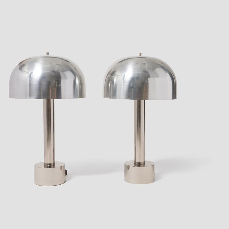 Laurel Chrome Table Lamps Main Image