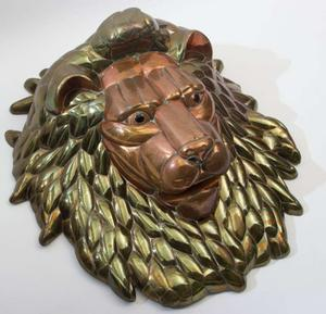 1980's Lion Head by Sergio Bustamante Preview Image 1
