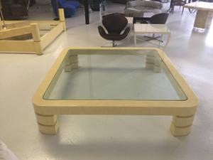 Coffee Table in the Style of Karl Springer Preview Image 1