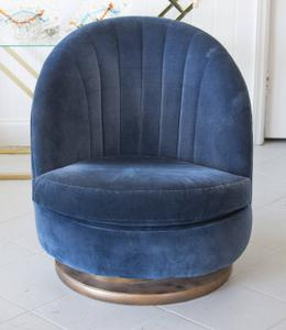 Milo Baughman Swivel Chair Preview Image 1