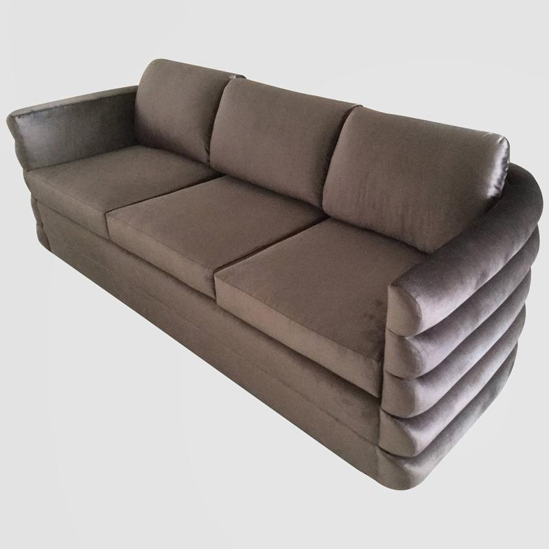 Milo Baughman Custom Sofa Main Image