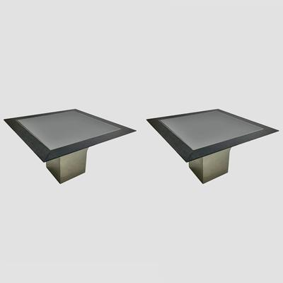 Steel Pedestal CenterTables by Pace Preview