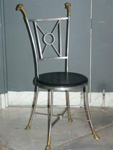 Maison Jensen Steel & Brass Chairs Preview Image 2