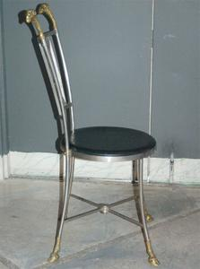 Maison Jensen Steel & Brass Chairs Preview Image 6