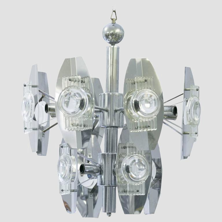 Terlasco Optical Chandelier Main Image