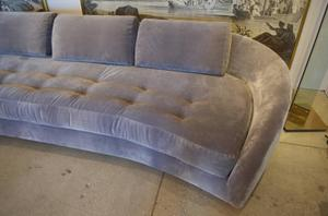 1950's Long Serpentine Sofa Preview Image 1