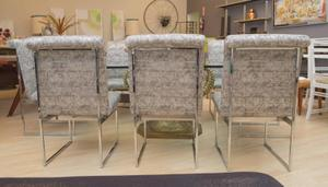 Milo Baughman Set of Ten Dining Chairs Preview Image 4