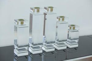 1970s Solid Lucite Candleholders Preview Image 1