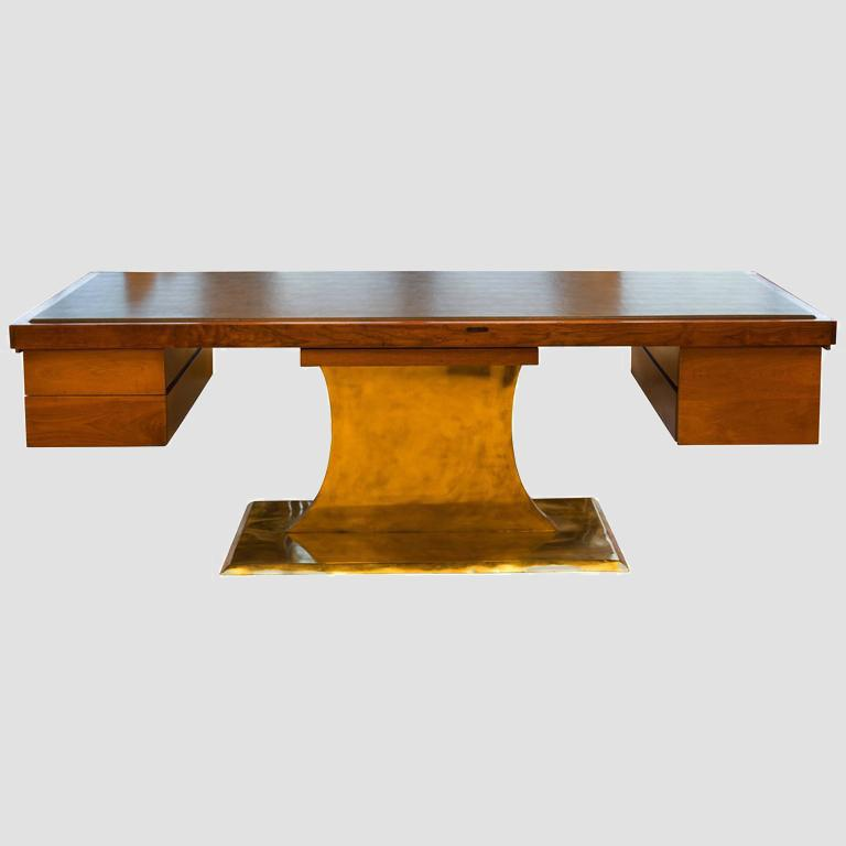 Executive Pedestal Desk by Harvey Probber Main Image