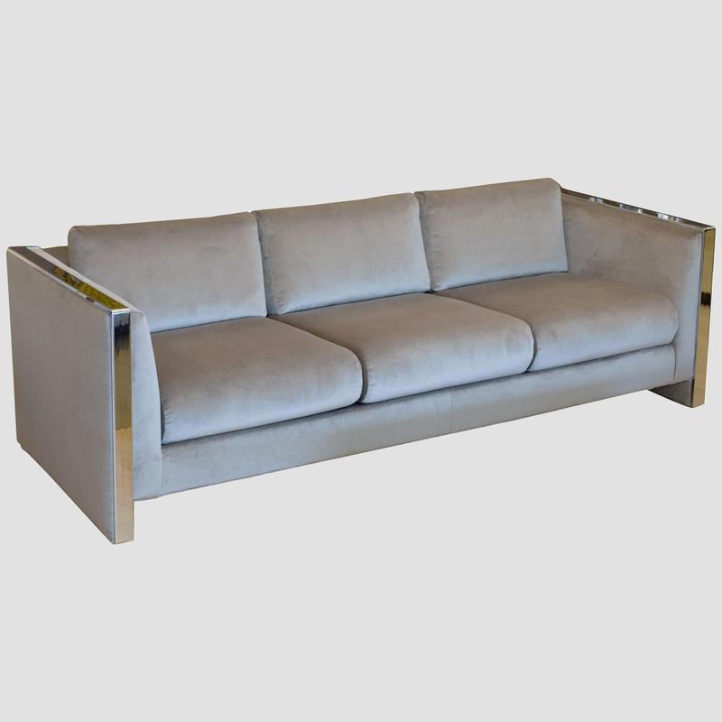 Milo Baughman for Thayer Coggin Sofa Main Image